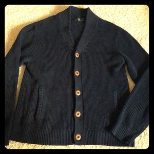 Express men's Sz Large Blue cardigan